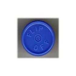 20mm Flip Off Vial Seals, Royal Blue, Bag of 1000