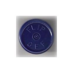 20mm Flip Off Vial Seals, Dark Navy Blue, Pack of 100
