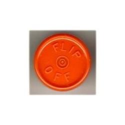 20mm Flip Off Vial Seals, Orange Peel, Pack of 100