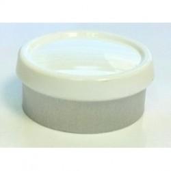 13mm Flip Off Vial Seals, Magenta, Pack of 100