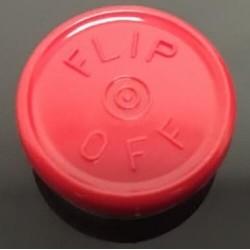 13mm Flip Off Vial Seals, Light Misty Gray, Case of 1000