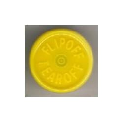 20mm Plain Vial Flip Caps, Lavender, Bag 1000