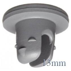 20mm Plain Vial Flip Caps, White, Pk 100