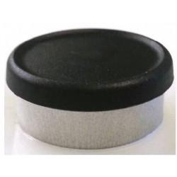 20mm Plain Vial Flip Caps, Brick Red, Bag 1000