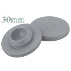 20mm Plain Vial Flip Caps, Dark Blue, Pk 100
