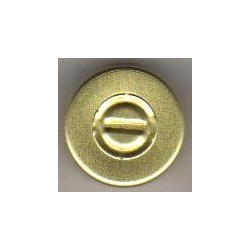 20mm Center Tear Vial Seals, Yellow, Pack of 100