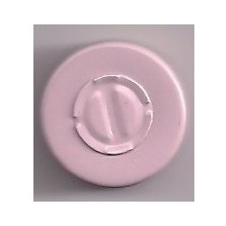 20mm Center Tear Vial Seals, Silver, Pack of 100