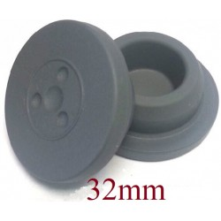 20mm Flip Off-Tear Off Vial Seals, Red, Pack of 100