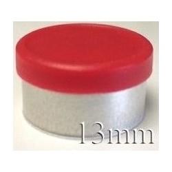 20mm Flip Off-Tear Off Vial Seals, Purple, Bag 1000