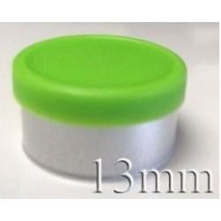 20mm Flip Off-Tear Off Vial Seals, Pink, Pack of 100