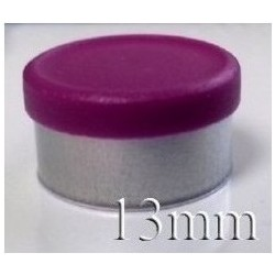 20mm Flip Off-Tear Off Vial Seals, Pink, Bag 1000