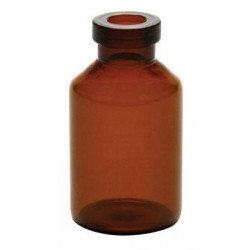 20mm Vial Stopper, Silicone Treated Round Bottom, Pack of 100